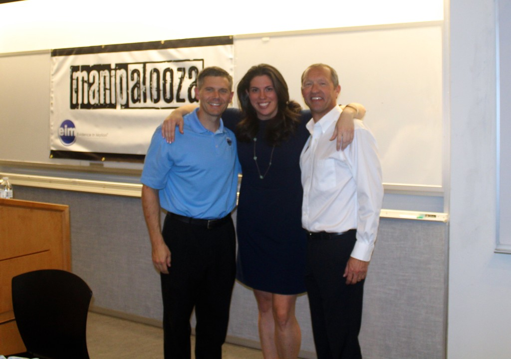 John Childs, Jess Schwartz, and Tim Flynn #Manipalooza