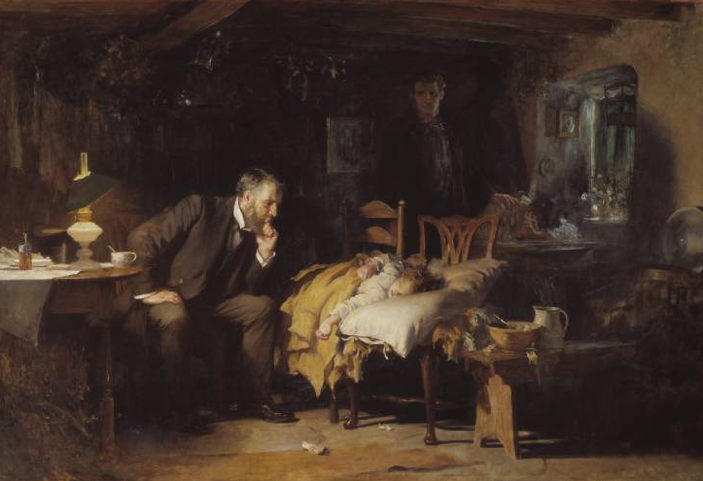 The Doctor Sir Luke_Fildes_(1891)
