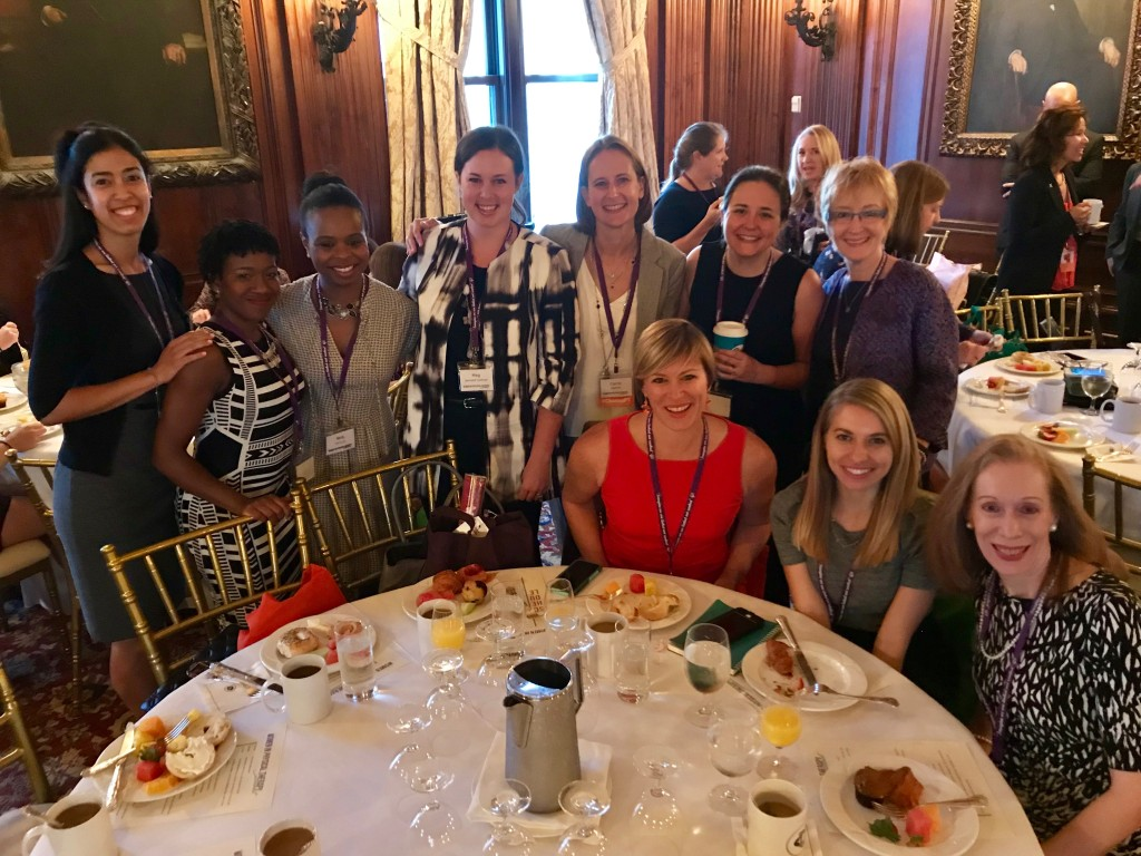 Secili DeStefano, Peggy Lynam, Carrie Pagliano, Meg Cochran, Erin Jackson, Megan Mitchell et al at the #WomenInPT Summit